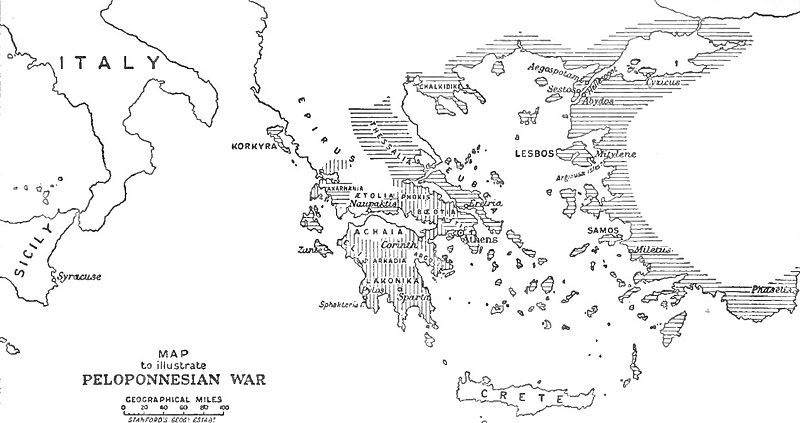The Great Peloponnesian War [Research]